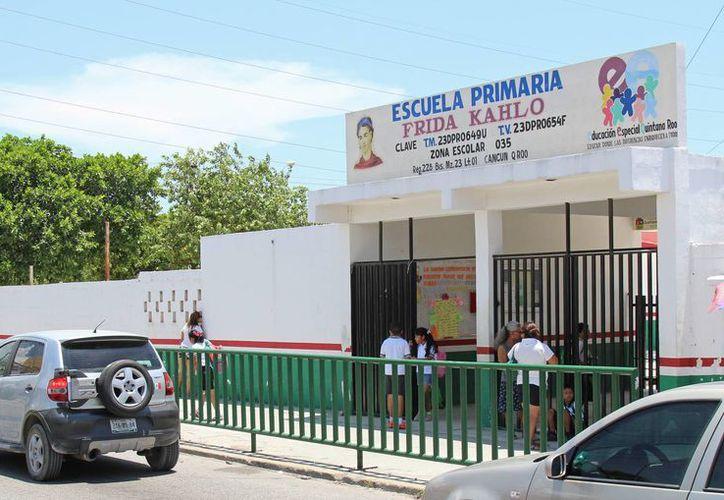 A partir del 15 de julio las escuelas de Benito Juárez quedarán resguardadas por parte de la Secretaría Municipal de Seguridad Pública y Tránsito. (Jesus Tijerina/SIPSE)