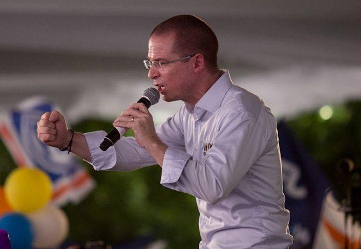 Ricardo Anaya realizó campaña en Puebla. (excelsior.com)