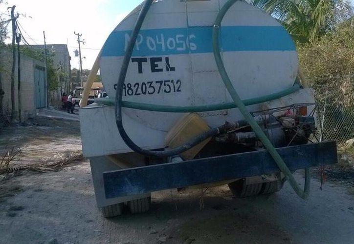 El conductor de la pipa de agua que atropelló a un menor de edad, fue encontrado 'no responsable' de la muerte del niño. (Eric Galindo/SIPSE)