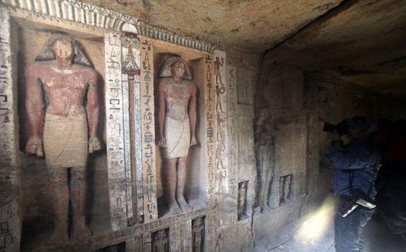 La tumba de un sacerdote egipcio en perfecto estado — Increíble hallazgo