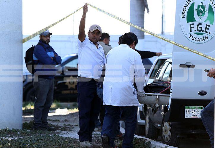 FGE informó que la mujer falleció a consecuencia de un traumatismo craneoencefálico. (Jorge Pallota/SIPSE)
