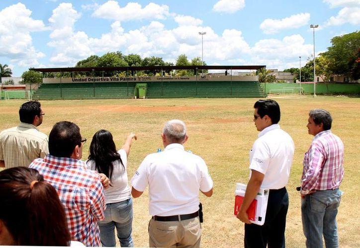 La Unidad Deportiva Villapalmira, en el sur de Mérida, tendrá modificaciones gracias a una inversión de 50 mdp. (Fotos: Milenio Novedades)
