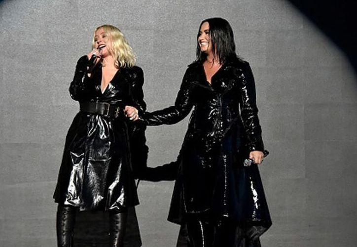 'Down The Line' demuestra una vez más la potencia vocal de Christina Aguilar, en esta ocasión acompañada de Demi Lovato. (Contexto/Internet)