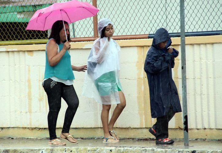 Se espera que en Mérida se registren precipitaciones intensas en las próximas horas. (Jorge Acosta/SIPSE)