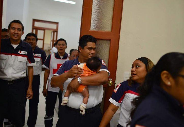 La Cruz Roja brindó en 2013 más de 11 mil servicios de urgencias en la entidad. (Luis Pérez/SIPSE)