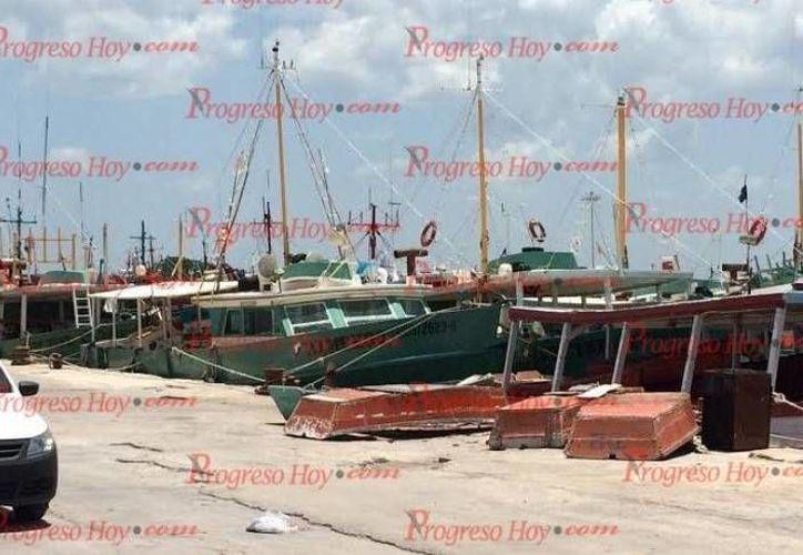 Este viernes, a las 9:00 horas, la Capitanía Regional ordenó que se reabrieran los puertos a la navegación. (Oscar Pérez/SIPSE)