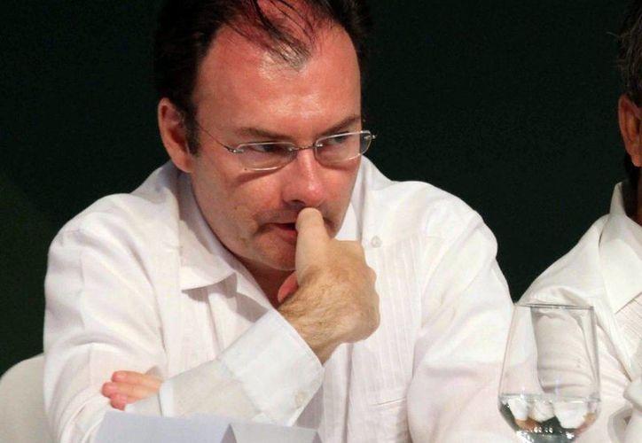 Luis Videgaray aseguró que el gobierno federal está haciendo lo fundamental para impulsar la economía. (Archivo/Notimex)