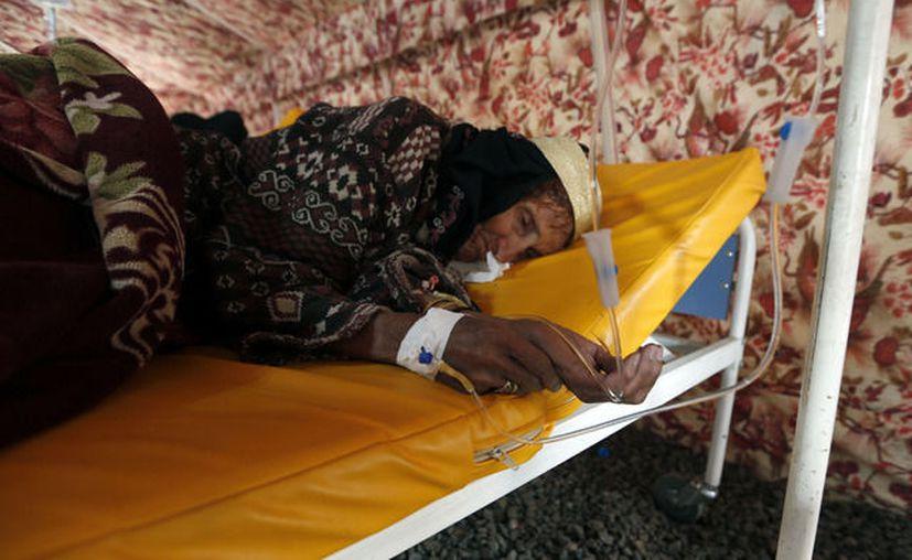 La ONU denunció a principios de mes que 70 mil casos de cólera han sido reportados. (AP).