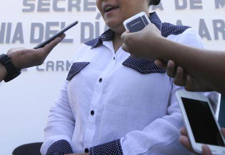 Cristina Torres afirmó que no le interesa llenar la cárcel de ex funcionarios, sino que regresen el dinero. (Foto: Redacción/SIPSE)