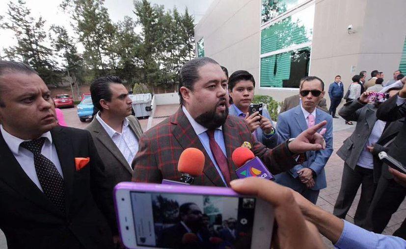 Emir Garduño llevaba meses con una orden de búsqueda y captura. (twitter.com/JMRivaPalacio)