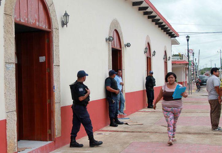De acuerdo con el área de Tesorería de la comuna, no se le cobró ningún tiempo de permisos ni renta. (Javier Ortiz/SIPSE)