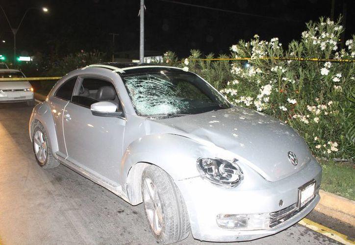 La conductora que atropelló y mató a una menor el viernes pasado fue vinculada a proceso ayer por la tarde. (Redacción/SIPSE)