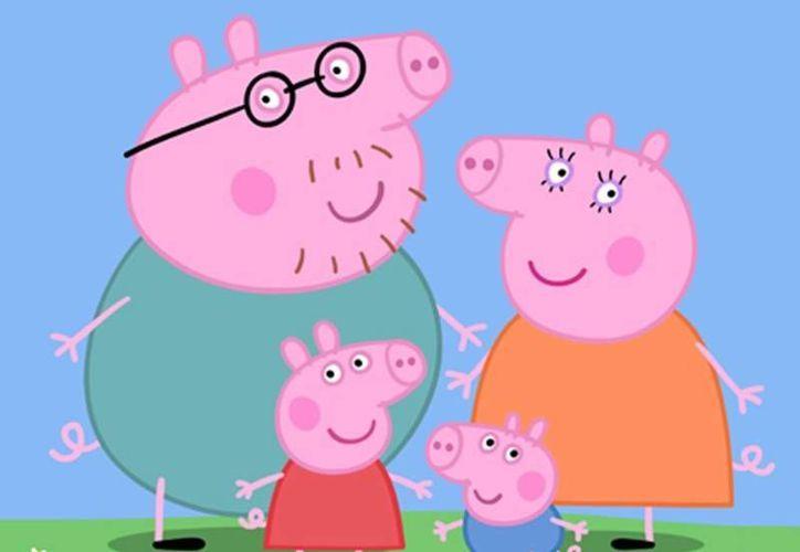Las aventuras de Peppa Pig y su familia, es un programa infantil, que es transmitido por televisión. (Foto de contexto/Internet)