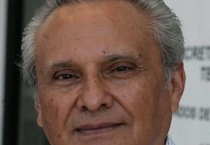 Víctor Alcérreca Sánchez, director general del Coqcyt. (Cortesía/SIPSE)