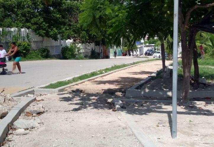 Se esperan más obras para que la comunidad mejore sus áreas públicas. (Sara Cauich/SIPSE)