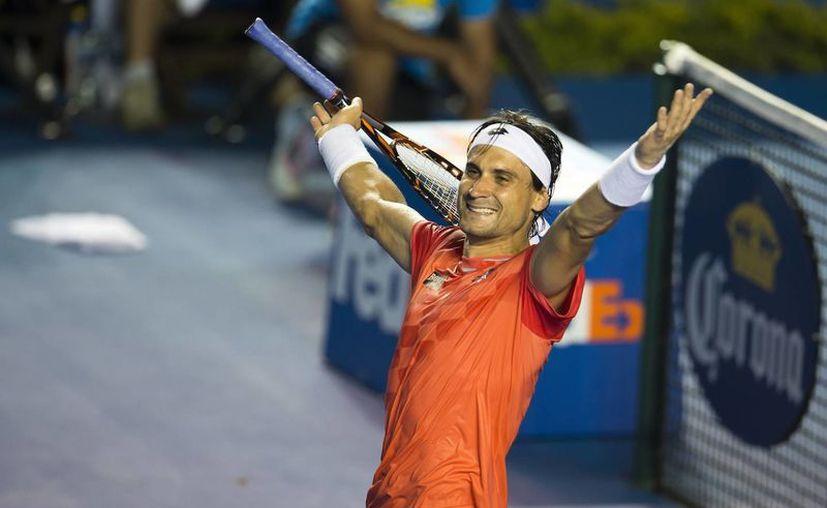 Desde que el Abierto Mexicano de Tenis se mudó a la costa se ha convertido en una de las paradas predilectas de los tenistas top. En la foto, David Ferrer, vigente campeón. (posta.com)