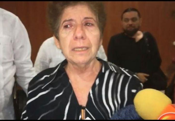 'Sólo podremos respirar en paz y reorganizarnos como familia hasta que todos los involucrados sean condenados', dijo Ligia Canto, madre de la víctima. (SIPSE)