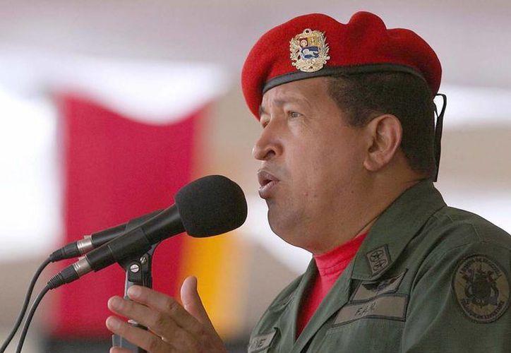 Hugo Chávez fue reelecto presidente de Venezuela en octubre del año pasado. (Notimex/Archivo)