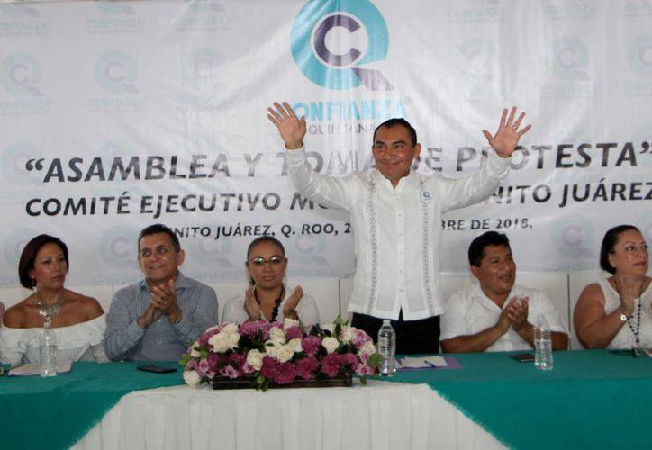El Partido Confianza por Quintana Roo, es uno de los dos nuevos organismo creados en el estado. (Redacción)