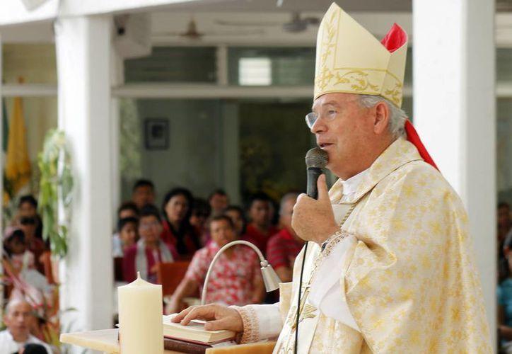 Pedro Pablo Elizondo Cárdenas dijo que es necesario cambiar la imagen del centro de Cancún. (Jesús Tijerina/SIPSE)