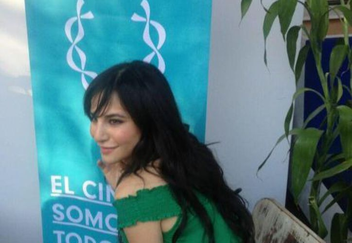 La actriz Martha Higareda acaparó las miradas en la gala del RMFF. (Internet)
