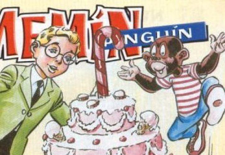 """Se han reeditado en varias ocasiones la historieta de """"Memín Pinguín"""", que comenzó a imprimirse en color café. (Milenio)"""