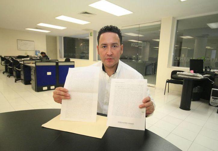 Vicente Bojórquez Servín teme por la integridad de su hija. (SIPSE)