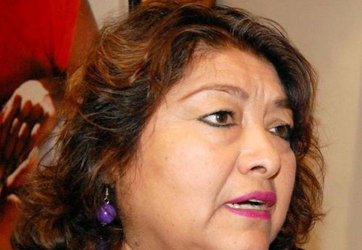 Rosario Cetina Amaya, precisó que el Centro de Atención de Mérida se ubicará al sur de la ciudad. (Wilbert Argüelles/SIPSE)