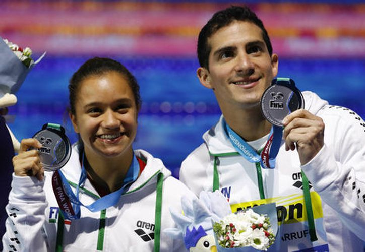 La pareja mexicana logró una puntuación de 402,35 puntos. (Foto: Milenio)
