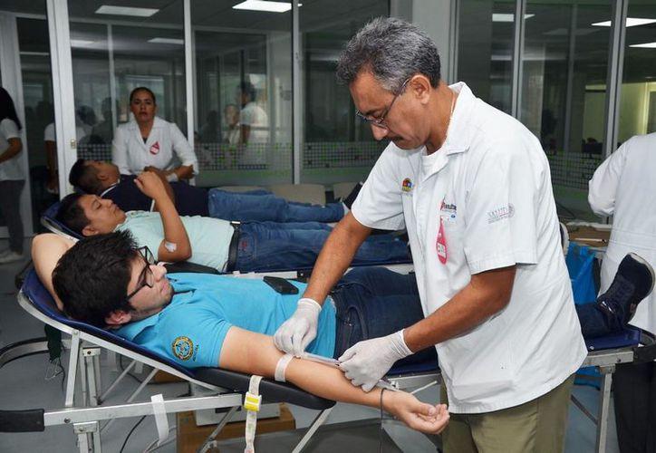 En Chetumal, el 90 % de los donadores al año, son personas que no son familiares de los pacientes. (Joel Zamora/SIPSE)