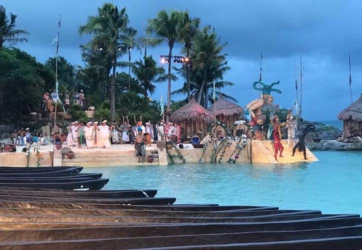 Esta mañana se llevó a cabo la danza y ritual maya tradicional del evento. (Sipse Noticias)