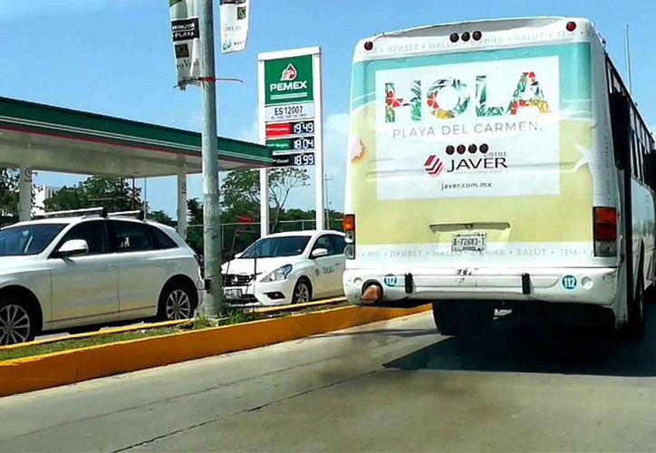Instan a solventar las malas condiciones de los camiones y combis. (Daniel Pacheco/SIPSE)