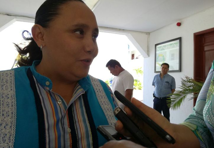 Cristina Torres dio a conocer la nueva denuncia contra ex funcionarios de la pasada administración. (Foto: Adrián Barreto)