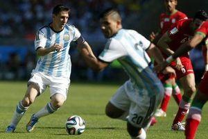 Argentina gana en el último minuto