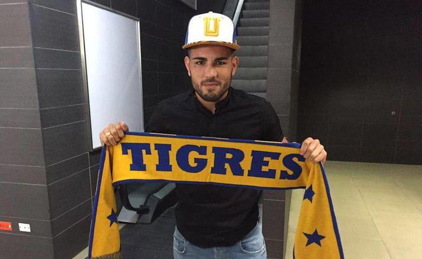 Andy Delort hará dupla en la delantera de Tigres, con su compatriota Andre Pierre Gignac. (Foto tomada de Facebook/TigresOficial)
