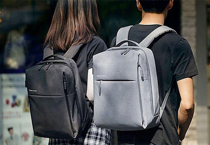 Las mochilas están dirigidas principalmente a estudiantes, pero también pueden ser utilizadas por viajeros y ejecutivos. (Contexto/Internet)
