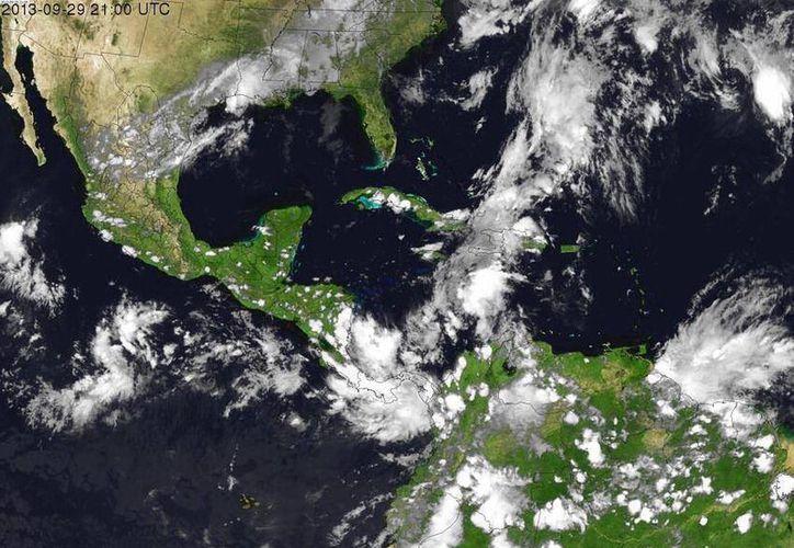 La zona de inestabilidad está afectando a Panamá y Haití. (Conagua)