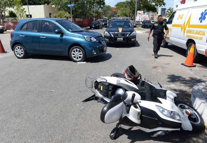 En lo que va del año han fallecido 11 motociclistas en accidentes en Yucatán. (Foto de contexto de Cuauhtémoc Moreno/Mlienio Novedades)