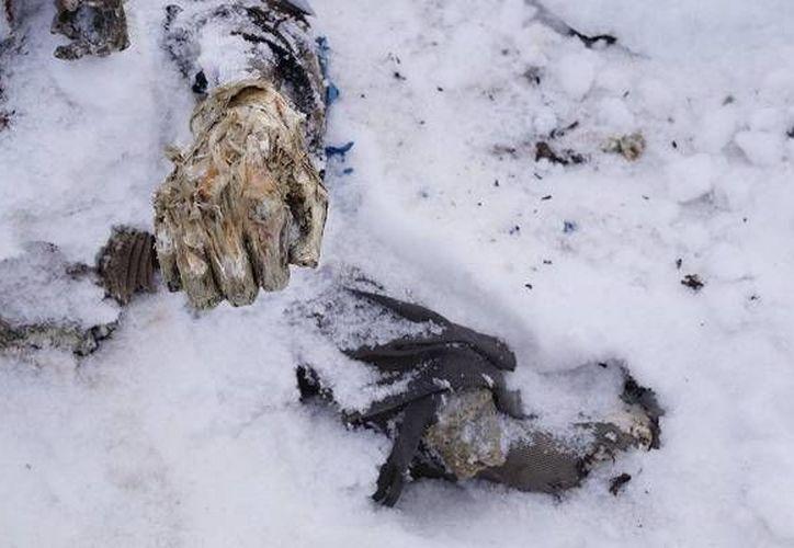 Los restos humanos fueron encontrados por seis montañistas. (periodicocentral.mx)