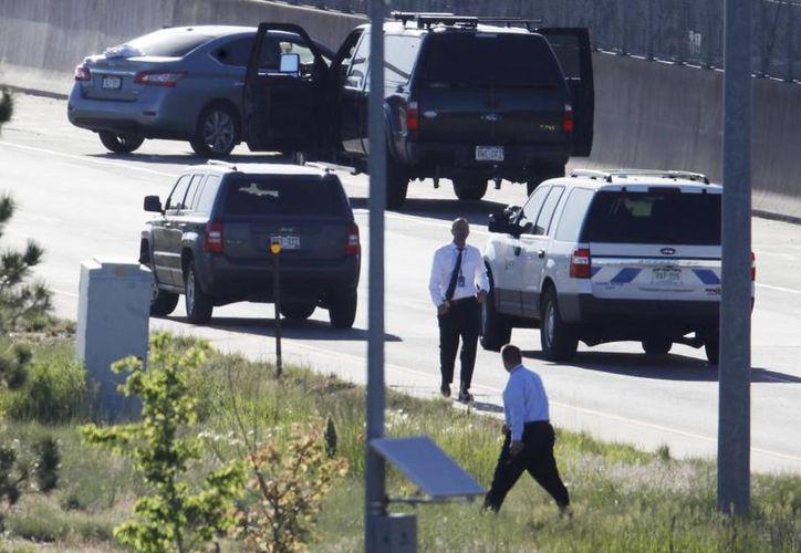 El asesinato ocurrió mientras el chofer conducía por una transitada avenida. (AP)