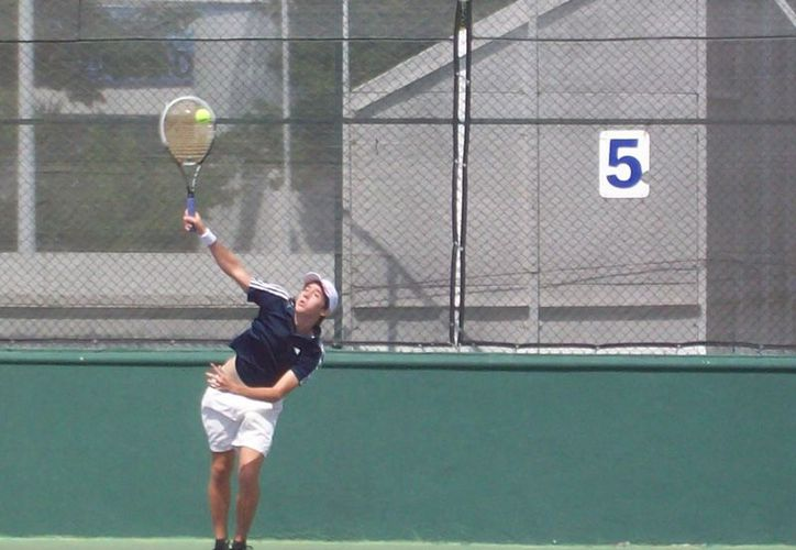 Las semifinales del Master de Tenis Spirit2 se programarán para este viernes. (Raúl Caballero/SIPSE)