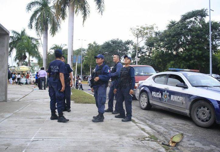 El cuerpo policíaco no se da abasto para brindar vigilancia en las 84 comunidades rurales de Othón P. Blanco. (Harold Alcocer/SIPSE)