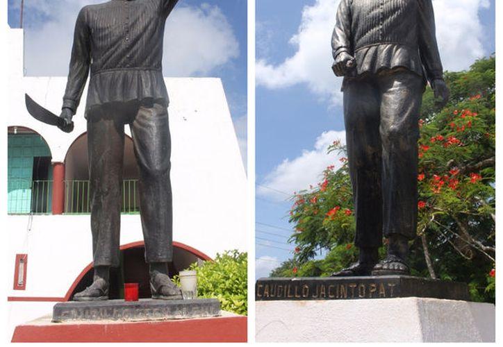 Jacinto Pat y Cecilio Chi, son los nombres de los dos precursores de la lucha social maya nombrada la 'Guerra de Castas'. (Jesús Caamal/SIPSE)
