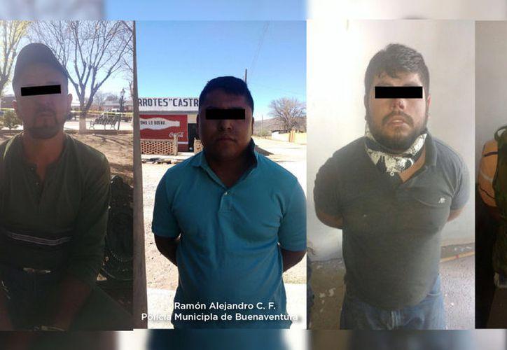 """Los policías abatieron a Edgar R.M. alias """"El Mini"""" y detuvieron a cuatro de los agresores. (Noticieros Televisa)"""