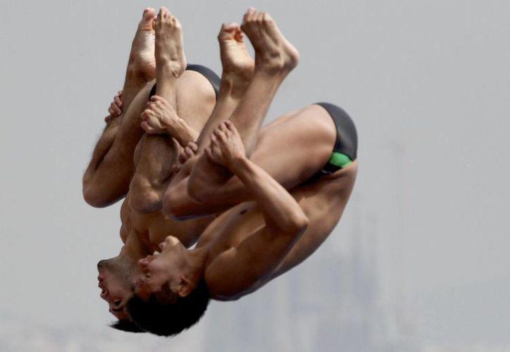 Iván García y Germán Sánchez superaron a la dupla china y a la anfitriona rusa en el podio. (deporte.gob.mx/Foto de archivo)