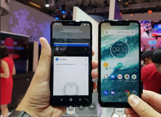 Motorola anuncia Moto One, su primer smartphone Android One, por 299 euros