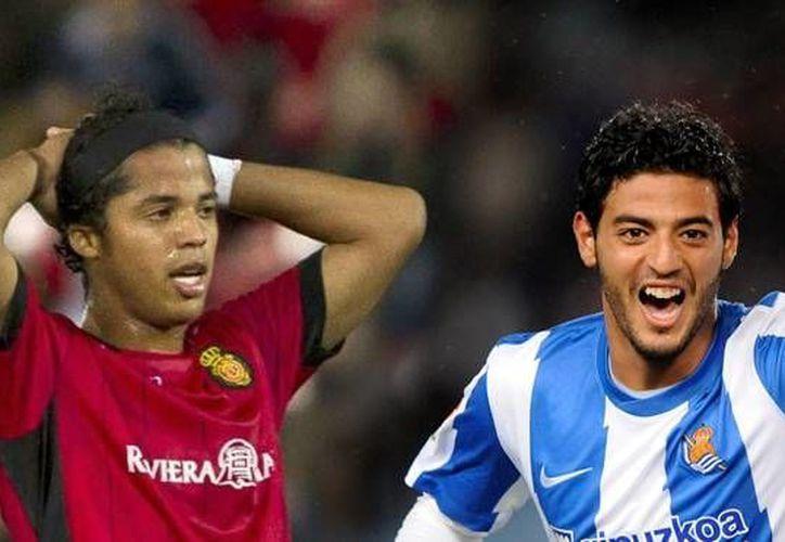 Gio ha anotado en los dos últimos encuentros; mientras que Vela es el goleador de la Real Sociedad. (Foto: Especial)