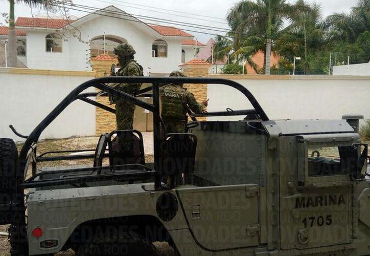 La residencia se ubicada en la esquina de la avenida Huayacán y calle Paseo de Maule. (Redacción)