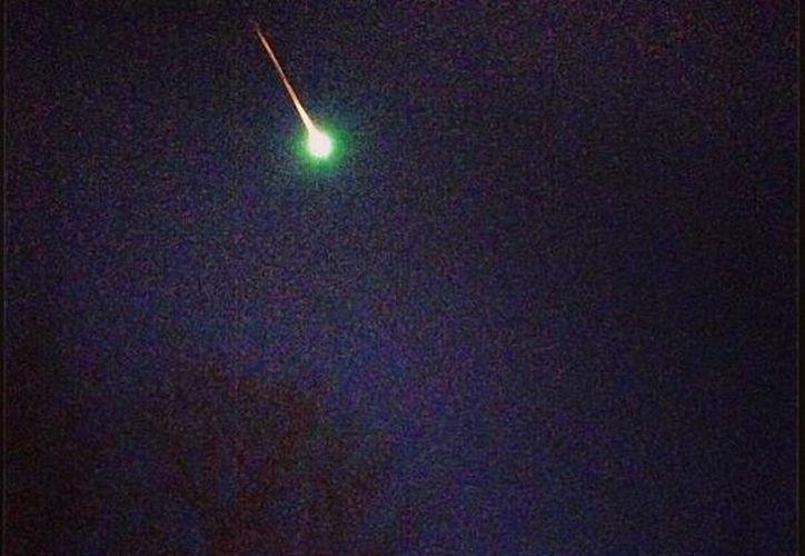 La bola de fuego fue vista en toda la costa este de Estados Unidos. (Foto: cmetzy7 - Instagram)