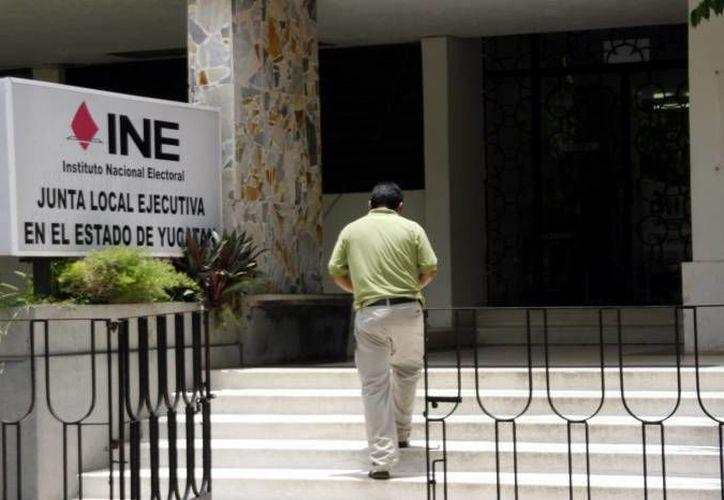 El INE dio a conocer las estrategias de blindaje electoral de los programas sociales. (Archivo/SIPSE)